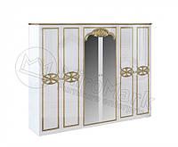 Шкаф Ева 6Д с зеркалом Миро-Марк