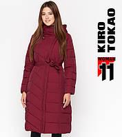 Киро Токао DR23 | Женская куртка зимняя бордо