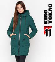 Kiro Tokao 806   Куртка женская зимняя зеленая