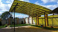 Строительство и ремонт: достоинства сотового поликарбоната