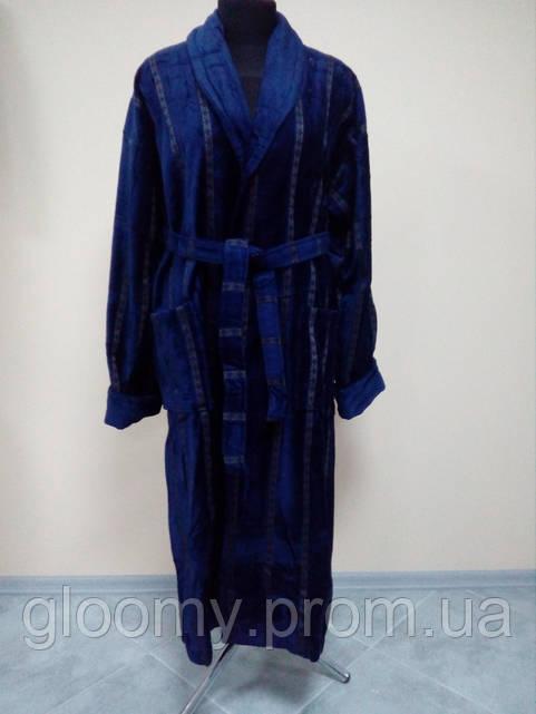 Мужской халат, натуральная махра
