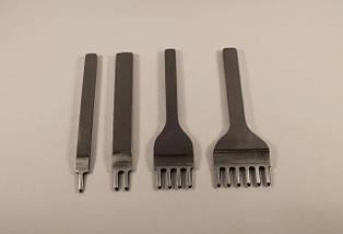 Пробойники 6мм ромбовидной формы зубов (инструмент для кожи)