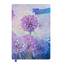 Ежедневник датированный 2019 CHERIE, A5, 336 стр., сиреневый 2182-26 , фото 1