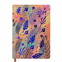 Ежедневник датированный 2019 CHERIE, A5, 336 стр., оранжевый 2182-11 , фото 1