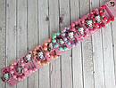 Детские браслеты на резинке Китти 10 шт/уп, фото 3