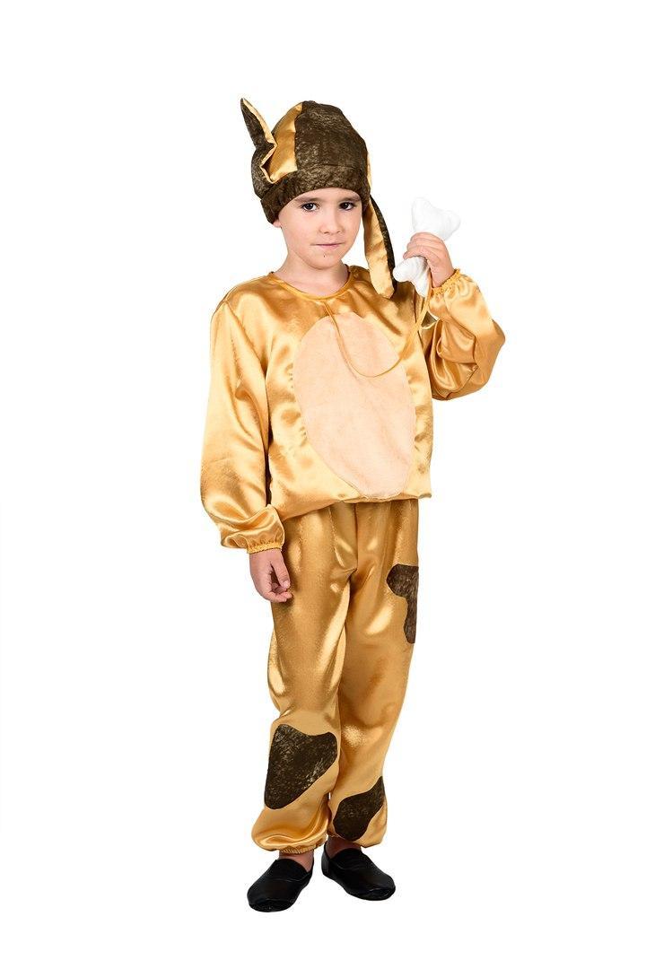 Детский карнавальный маскарадный костюм Собачка для мальчика размер: 30, 32, 34