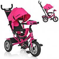 Велосипед детский Profi Turbo Trike M 3115-3HA Ярко-розовый (M 3115-3HA_int)
