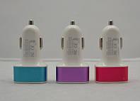 Автомобильная USB зарядка 3IN1 5V 3.1А, 2.1А, 1А FVX