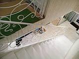 Білі ковані перила в стилі модерн, фото 3