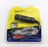 Адаптер видеозахвата 1-канальный Easy Cap USB FX