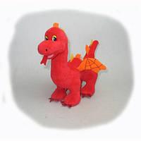 Мягкая муз.игрушка Lava ДРАКОН (красный,20см)