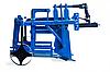 Картофелекопатель для мотоблока КМ-3 (привод-ВОМ (кардан) c ходоуменьшителем