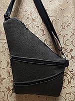 Барсетка слинг на грудь Унисекс/Cумка спортивные для через плечо(ОПТ) , фото 1