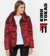 Киро Токао 811 | Женская куртка осень-весна красная