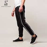 Тёплые спортивные штаны мужские ТУР Sektor, чёрные