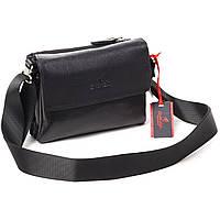 51ad612cc047 Мужская сумка Eminsa 6070-18-1 кожаная черная , цена 2 295 грн ...