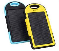 Зарядное устройство c солнечной батареей Power Bank 12000mAh Solar 2 USB Slim FX