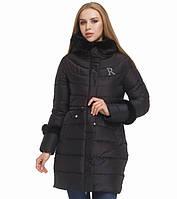 Женская зимняя куртка черная 44