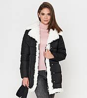 Куртка женская зимняя черная 44 46 48  размер