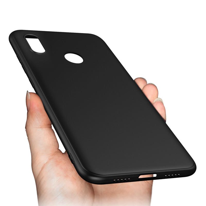 Бампер чехол софт тач матовый Чёрный Xiaomi Redmi Note 5 / 5 Pro
