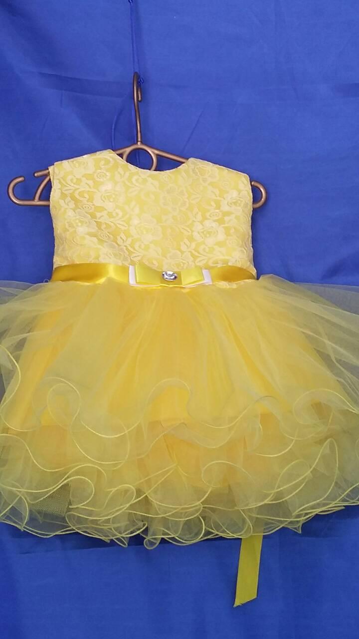 Платье детское нарядное 1-2 года