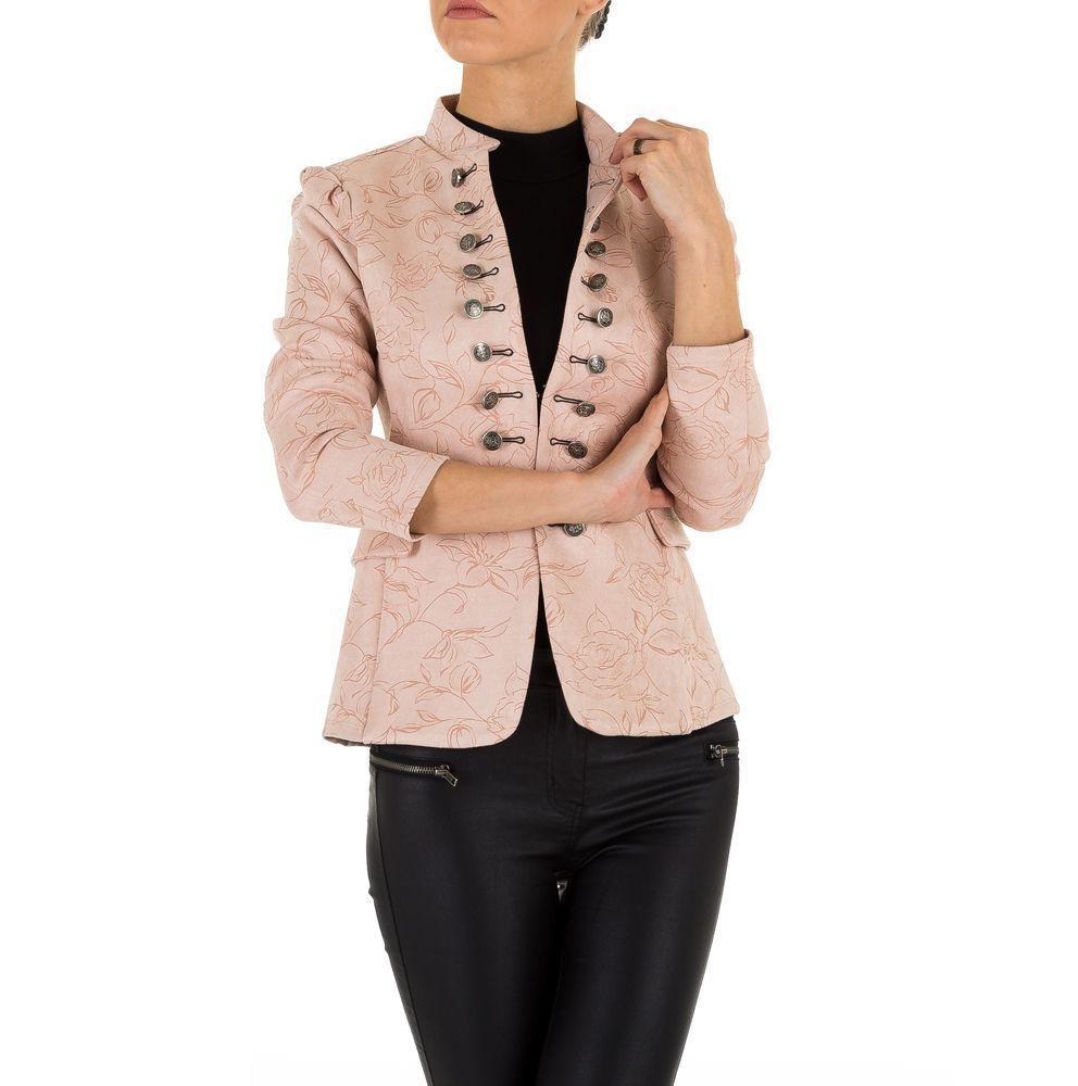 Пиджак милитари женский (Европа), Розовый