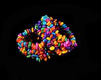 Браслет з кольорового перламутру, фото 1