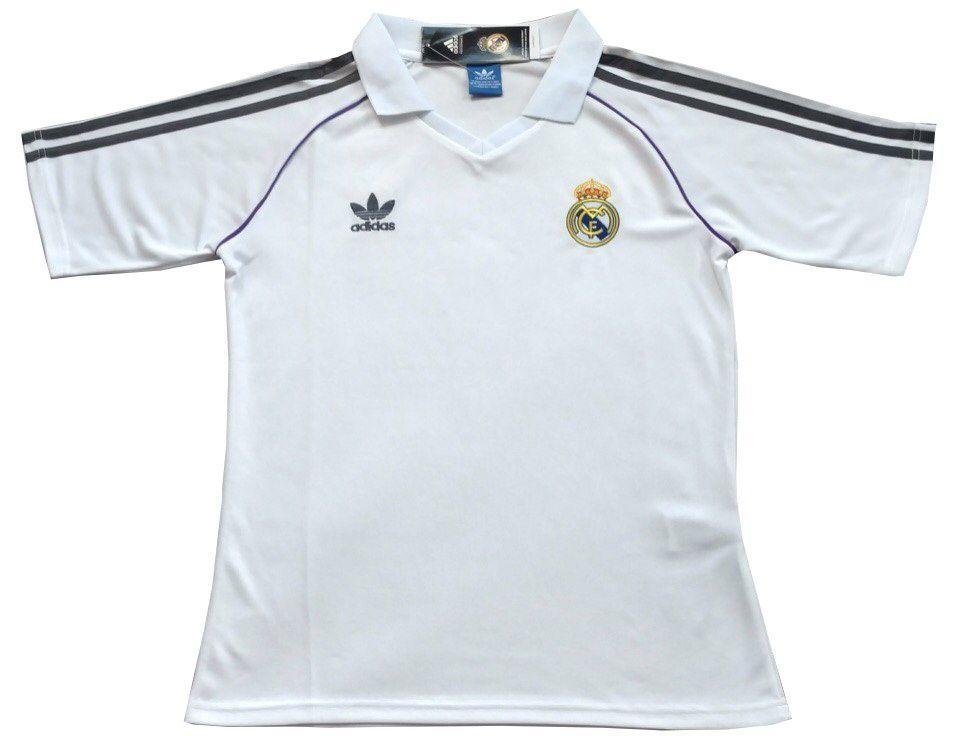 Футбольная футболка поло Реал Мадрид белая