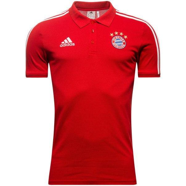 Футбольная футболка поло Бавария