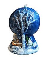 Свеча новогодняя шар, 250 грамм
