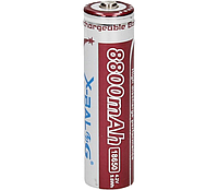 Аккумулятор Li-ion X-BAL 18650 8800 mAh 4.2V PURPLE FFC