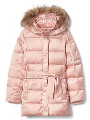 Очень стильный теплый пуховик  Gap Shimmer Оригинал (Размер 7-9 лет)