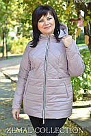 Куртка демисезонная батал PK1-362, фото 1