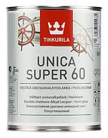 Полуглянцевый уретано-алкидный лак Unica Super ЕР 0,9 л