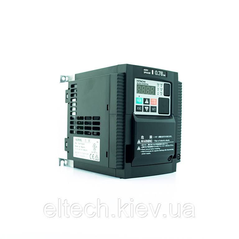 WL200-007HFE, 0.75кВт, 400В. Частотный преобразователь Hitachi