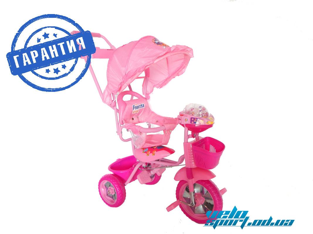 """Детский трехколесный велосипед Baby Club """"Princess Story"""""""