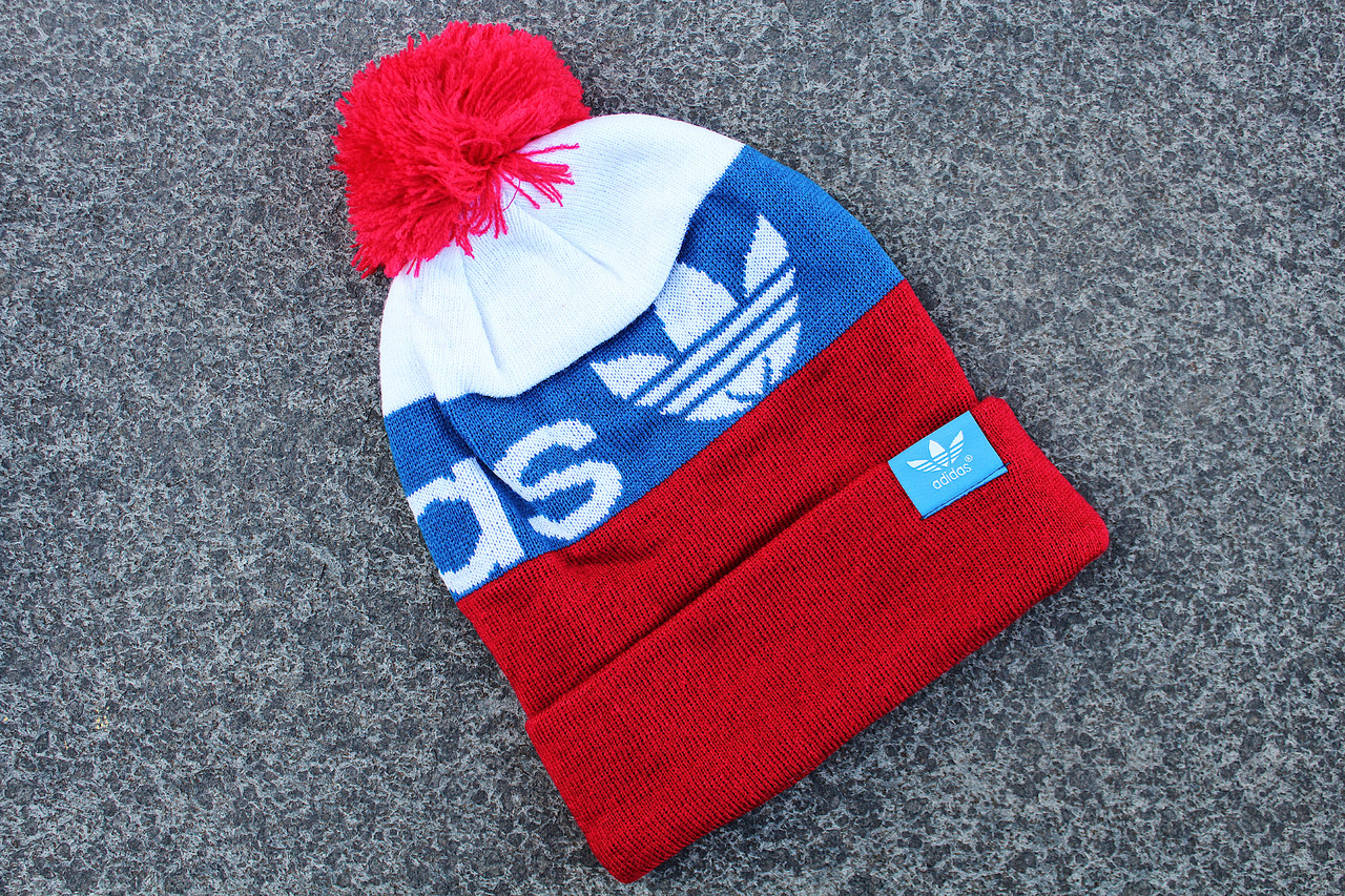Шапка зимняя Adidas / SPK-158 (Реплика)