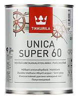 Полуглянцевый уретано-алкидный лак Unica Super ЕР 2,7 л