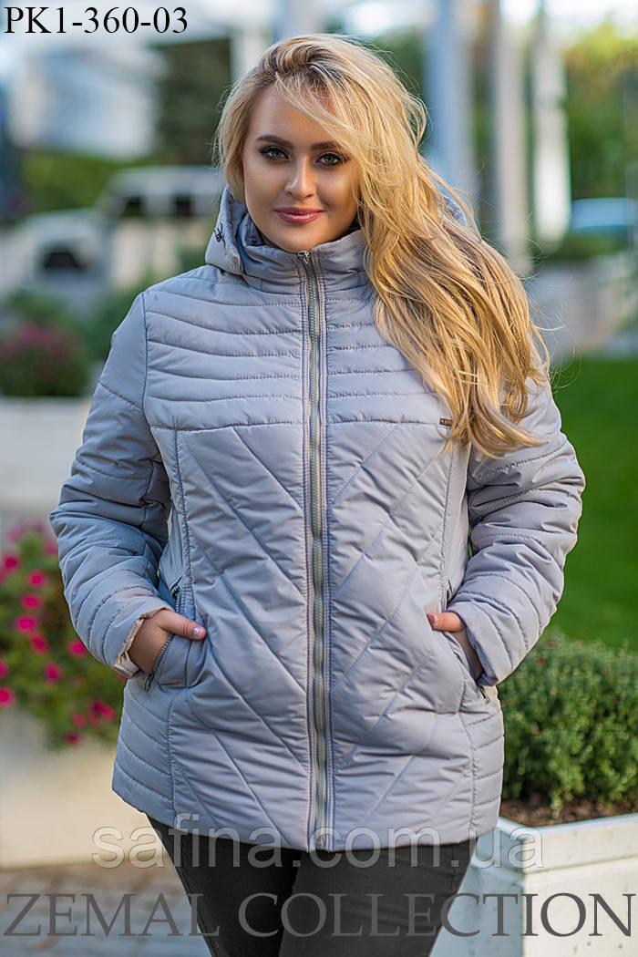 Куртка зимняя батал PK1-360