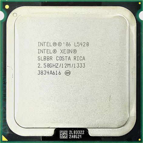 Процессор Intel Xeon L5420 E0 4-ядра 2.50GHz для LGA775 50W + термопаста GD900, фото 2