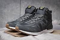 Зимние кроссовки на меху Armani Jeans, серые (30482),  [  41 42  ], фото 1