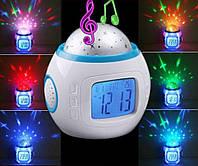 Музыкальные часы проектор звездного неба 1038 DX