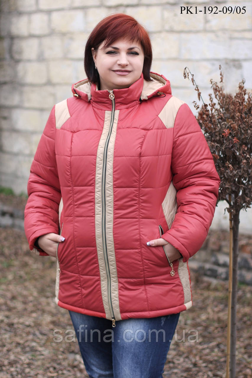 Куртка зимняя батал PK1-192