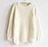 Белый свитер женский вязаный, фото 3