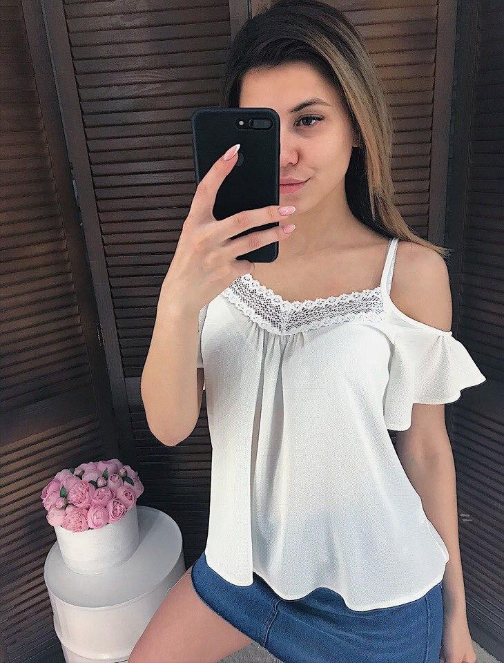 0fa0ba410675585 Блузка женская красивая 2018