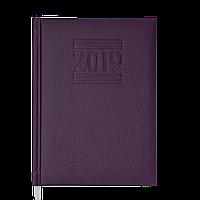 Ежедневник датированный 2019 BELCANTO, A5, 336 стр., фиолетовый 2176-07 , фото 1