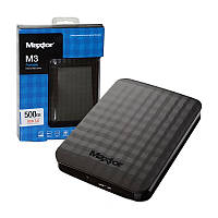 Жесткий внешний диск  PHD External 2.5'' Maxtor (Seagate)  USB 3.0 500GB Black