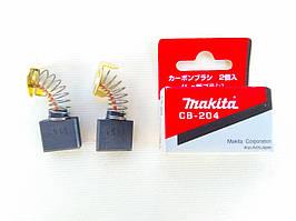 Щетки графитовые Makita СВ-204
