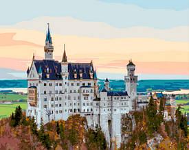 Картина по номерам Осень в Баварии