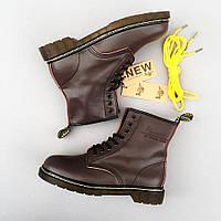Мужские ботинки в стиле Dr. Martens Classic Boots Brown 75818ea8737f6